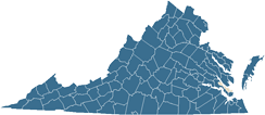 Map of York County